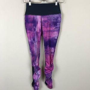 Nike Yoga Leggings Pants Red Tag Low Rise